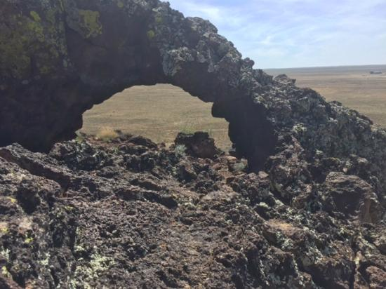 Volcano Park: Volcanic arch on top of Vulcan