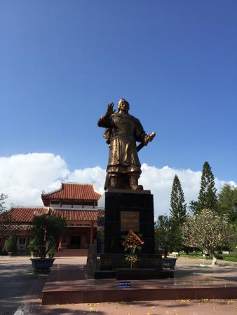 Tay Son, Vietnam: Quang Trung Statue in front of the museum