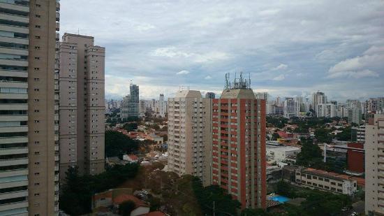 Ibis Budget Sao Paulo Morumbi: Visto do apartamento