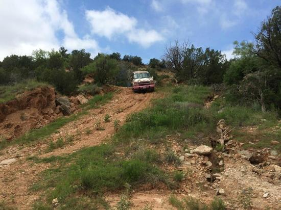 Canyon, TX: Many hills steeper than this.