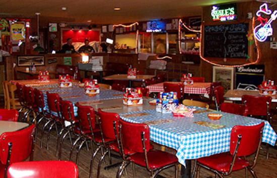 Plenty of room! - Picture of Jimmy Mac's Roadhouse ...