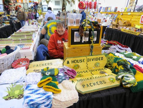 Indoor Shawano Wisconsin Flea Market