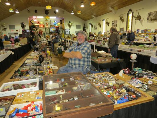 Indoor Shawano Wisconsin Flea Market
