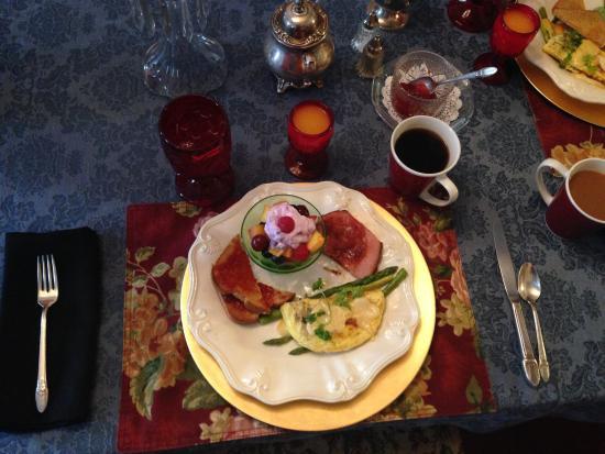 Barrister Bed & Breakfast: Nick's amazing breakfast