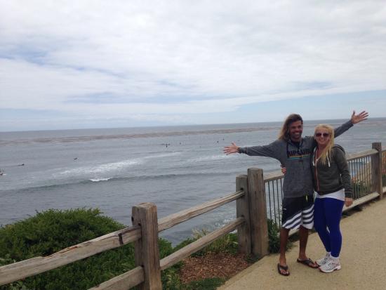 Pleasure Point Beach Até Nos Dias Pequenos Tem Um Surf