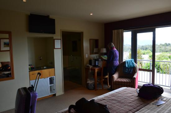 Distinction Fox Glacier, Te Weheka Boutique Hotel: It's a good view from here...and our room!