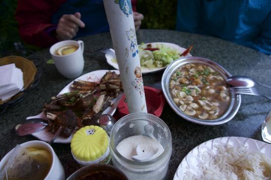 Lhasa Namaste Resaurant: The very unimpressive food