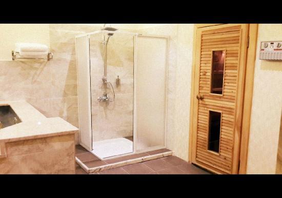 Karahayit, Τουρκία: Triplex Villa (Termal Havuz+Sauna+Duş)