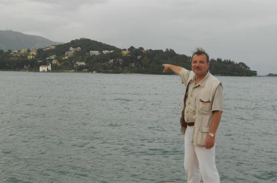 Pyrros Hotel: Вид на бухту Гувия около отеля Пиррос