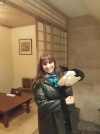 Yuki: antes de entrar a la sala de reserva