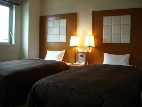 Komagane Premont Hotel : ツインルーム