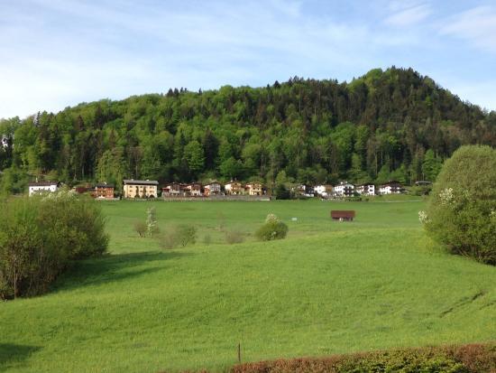 """Alpenhotel """"garni"""" Weiherbach : View from balcony"""