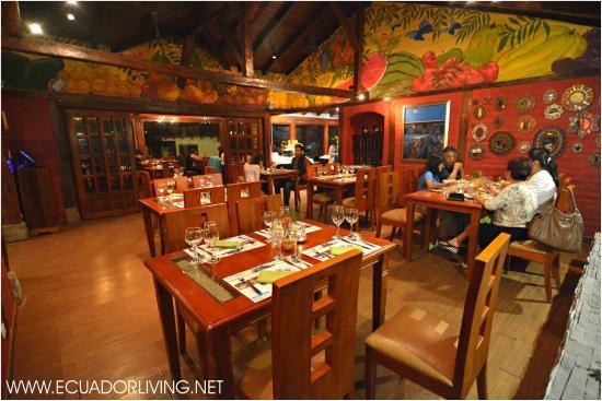 Luna Runtun, Adventure SPA: Luna Runtun: the Runtun Restaurant