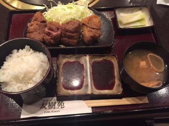 Taijuen Nishishinjukuten Part 1 : Beef katsu