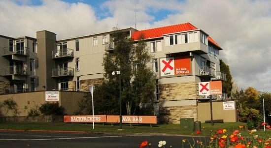 Base Rotorua: View From Road