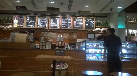 Interior of Starbucks at the Inorbit Mall - Picture of Starbucks ...