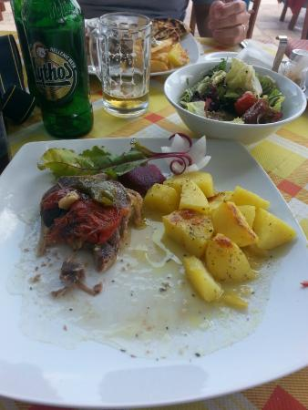 Hotel Tarsanas: Lamb with potatoes, yummyy