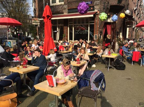 Cafe lust amsterdam de pijp restaurant avis num ro for Appart hotel amsterdam centre ville