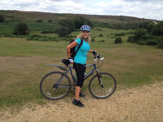 Louise Your Tour Guide Picture Of New Forest Cycling Guide New
