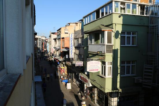Karslıoglu Hostel: Вид из окна 2