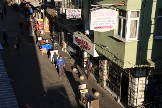 Karslıoglu Hostel: Вид из окна 3