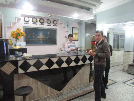 Hotel Sunshine: Ресепшн отеля