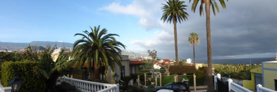 Villa Rosalva : Panoramablick von der Terasse