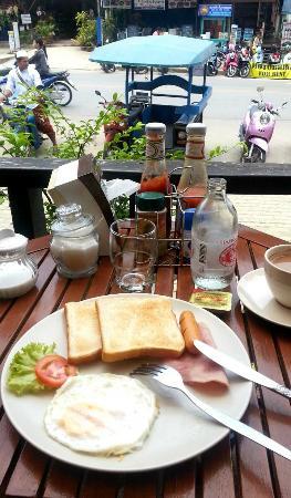 K.L. House AoNang: ontbijt