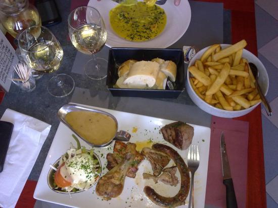 Le miroir manhay restaurant avis num ro de t l phone for Restaurant le miroir