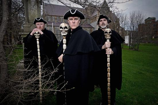 Meet the ghoulish guides of the St. John's Haunted Hike. Photo by Chris Hibbs.