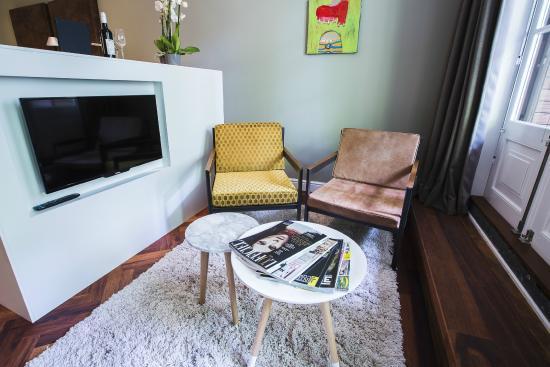 b&nb Herengracht Garden View - Living room