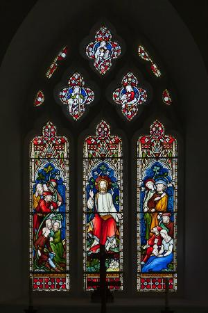 St. Tudno's Church : Stained-glass window