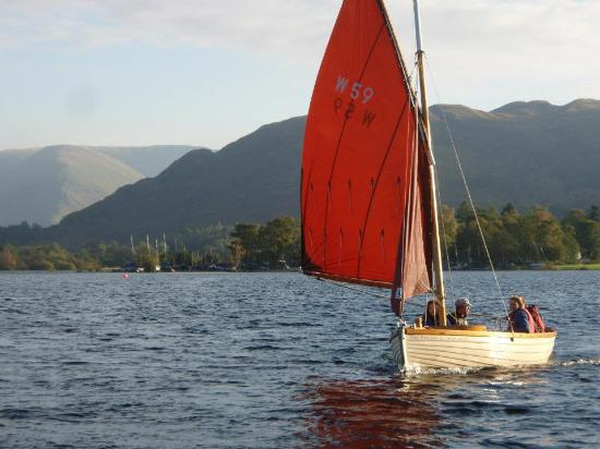 Glenridding, UK: Traditional Sailing Boat