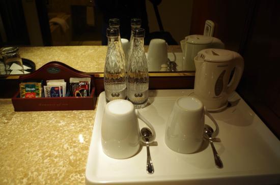 The Sultan Hotel Residence Jakarta Coffee Tea Set Up