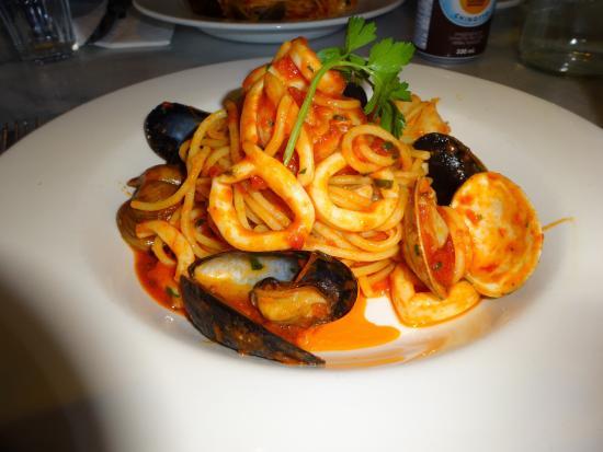 Terroni: seafood linguine