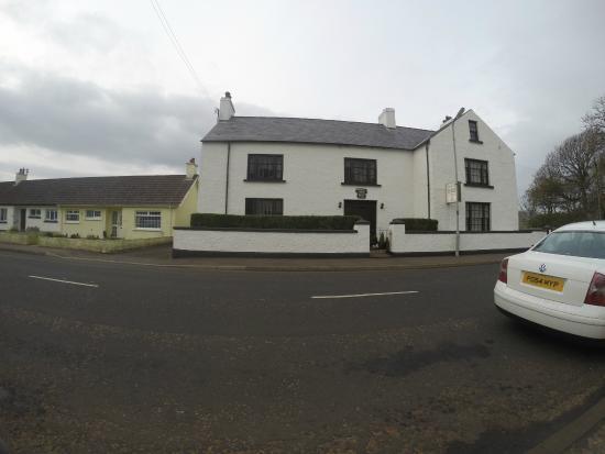 Ballintoy House: Outside