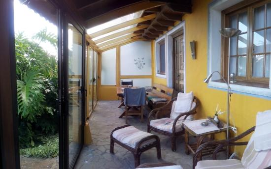 Finca Casa-Vieja : Wintergarten