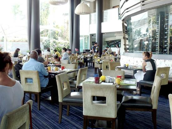 Chatrium Hotel Riverside Bangkok The Breakfast Buffet Is Served In This Dining Room And