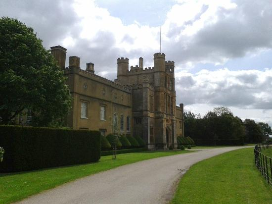 Coughton Court : Front view