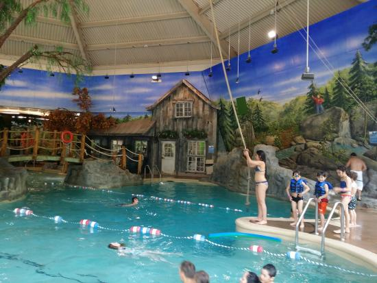 The Indoor Pool At Aqua Club Picture Of Sommet Des Neiges Mont Tremblant Tripadvisor