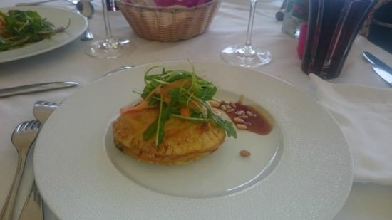 Restaurant Le Pitaya : Pithiviers de Foie gras à la Duxelle/repas Fête des mères