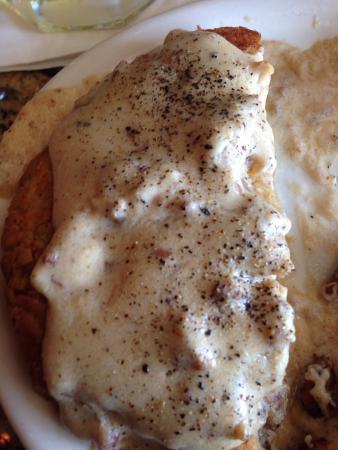 Best chicken fried steak and gravy