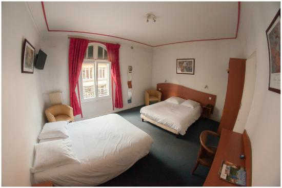 Hotel Gambetta: Chambre familiale 4 ou 5 personnes