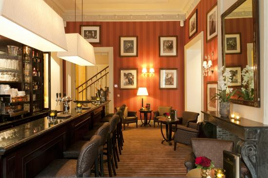 Grand Hotel Casselbergh Bruges: Bar