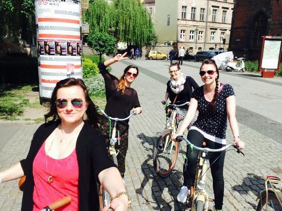 What's Up Wroclaw: Perfekter Stadtrundgang/Fahrradtour durch Wrocław :)