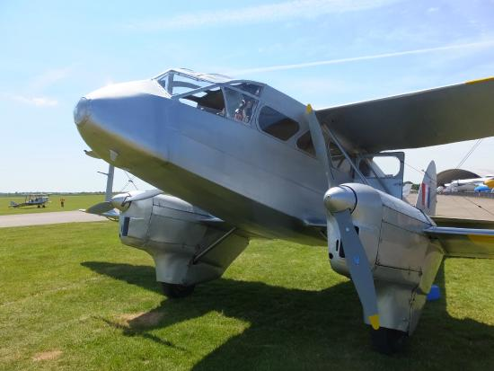Duxford, UK: Dragon Rapide