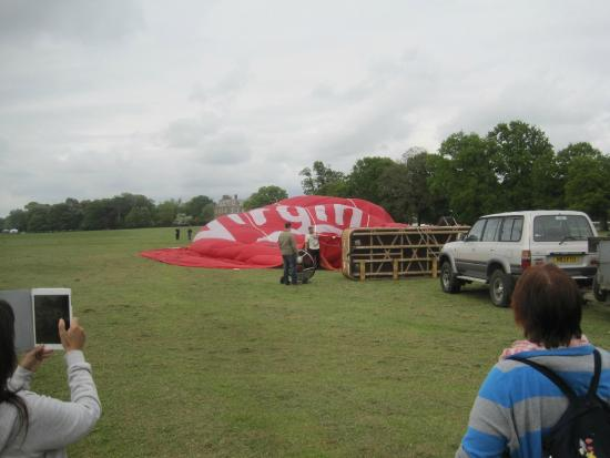 Coventry, UK: Balloon Going  Up
