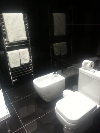 Santo's Higham Farm Hotel: Superior shower room