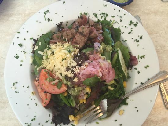 Cork and Catch: SantaFe Steak Salad