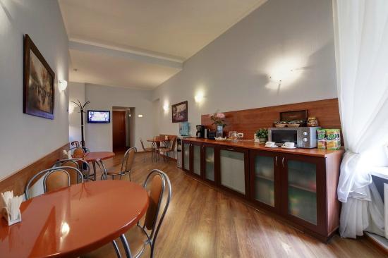 Sonata Hotel on Lomonosova: cafe